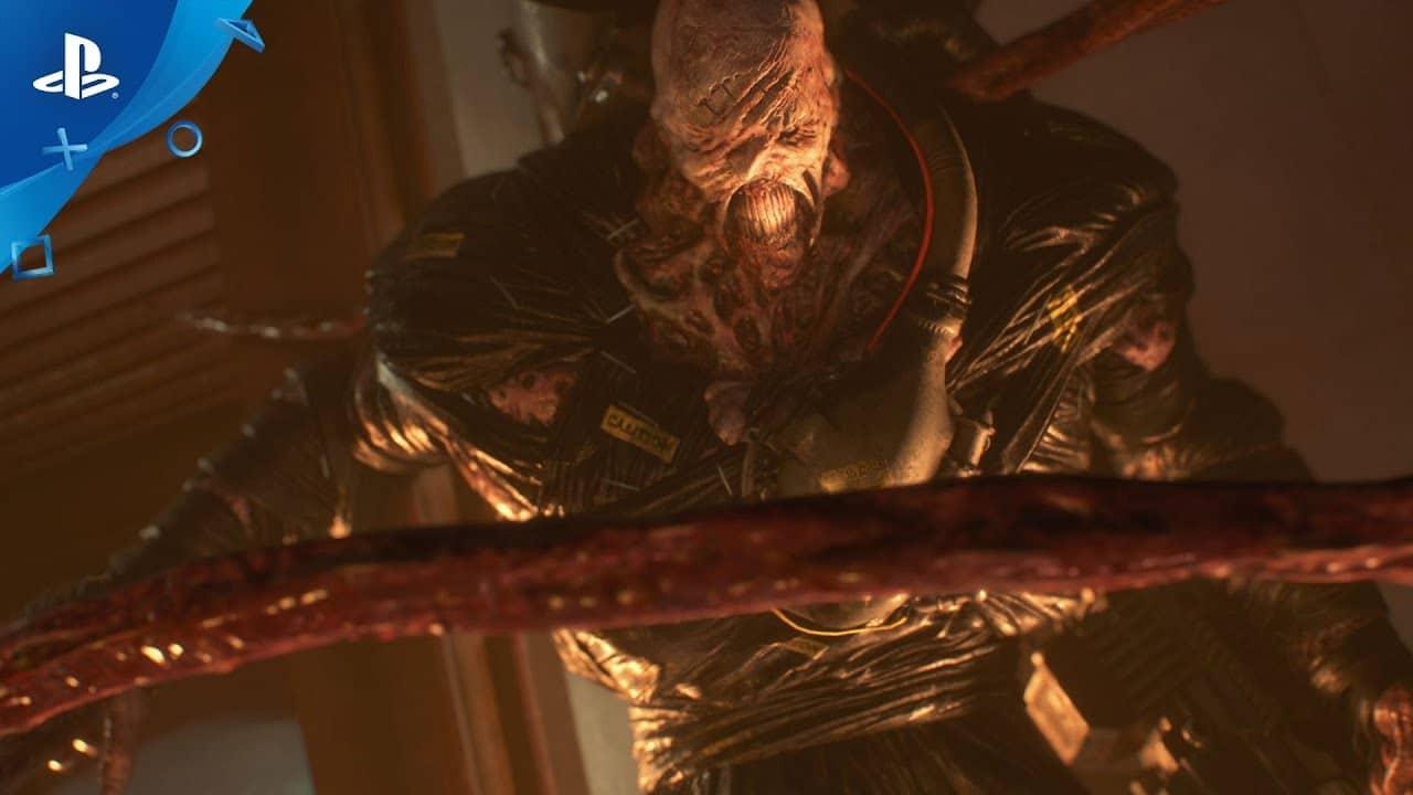 STARS: Resident Evil 3 ganha trailer arrepiante com Nemesis