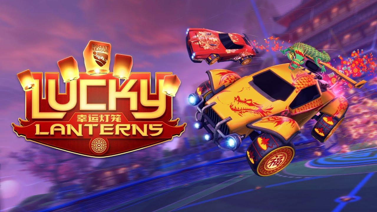 Lucky Lanterns é o evento de ano novo chinês em Rocket League