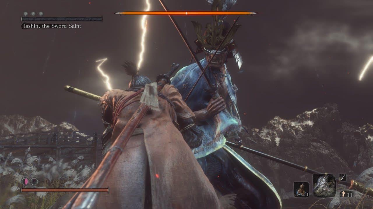 Jogador derrota o último chefão de Sekiro sem usar a espada