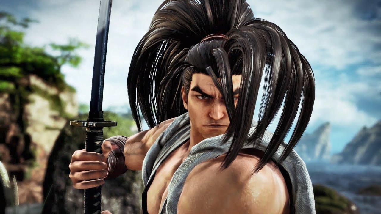 Haohmaru, de Samurai Showdown, chegará ao SoulCalibur VI