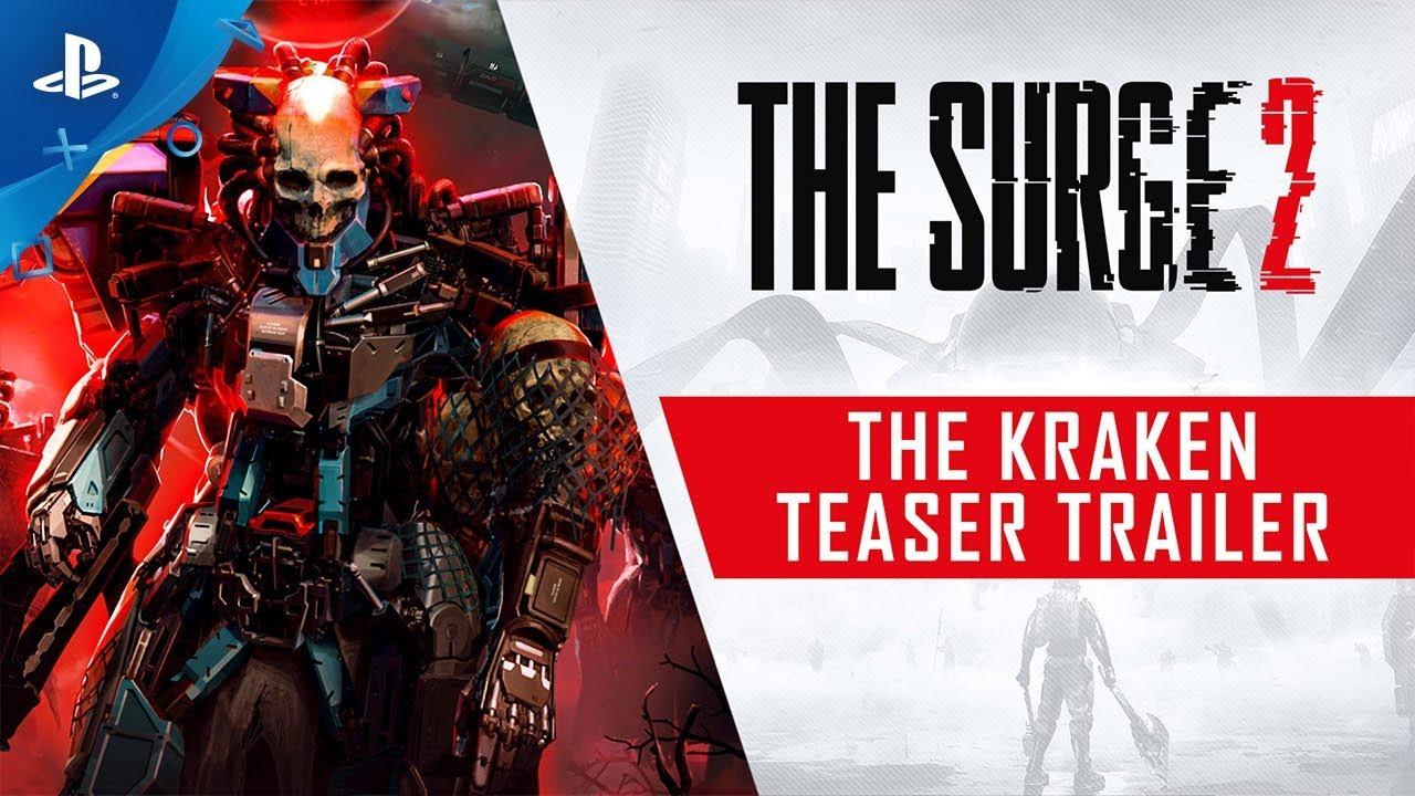 The Surge 2: DLC The Kraken chega ao PS4 em 16 de janeiro
