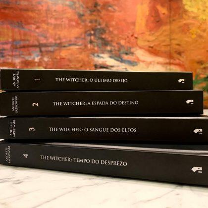 Voa, bruxão! Amazon oferece edições em capa dura de The Witcher com descontos 3