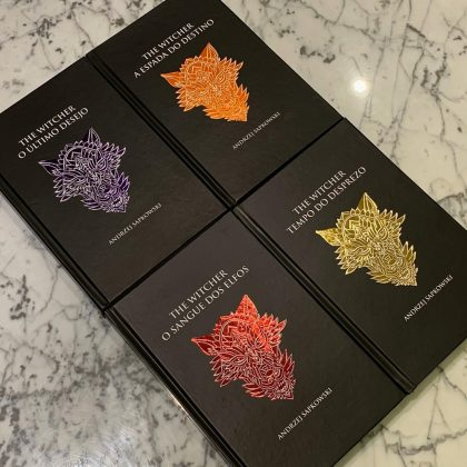 Voa, bruxão! Amazon oferece edições em capa dura de The Witcher com descontos 2