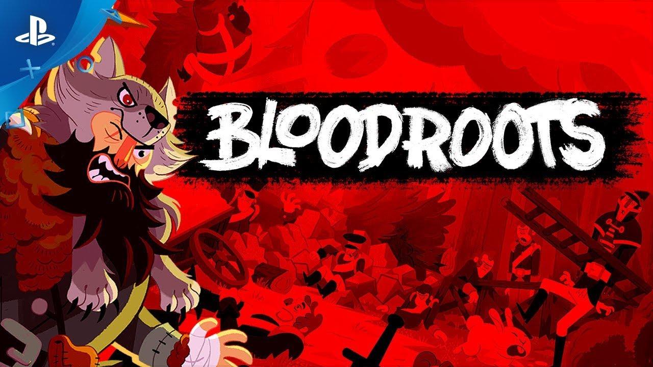 Bloodroots, jogo de ação frenético, chegará ao PS4 em fevereiro