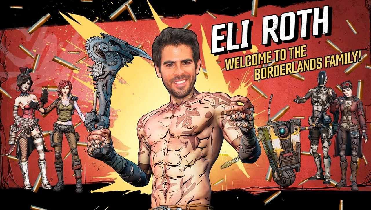 Borderlands vai virar filme com direção de Eli Roth