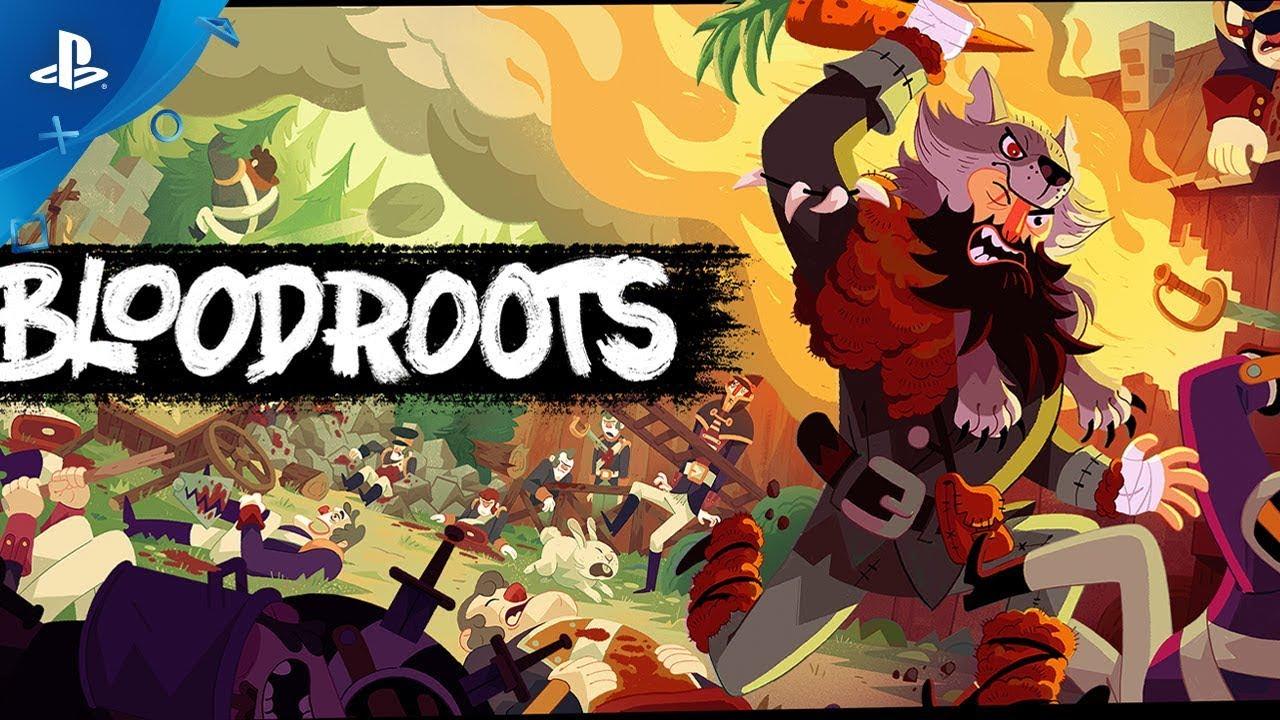 Bloodroots, jogo de ação sanguinário, ganha novo gameplay