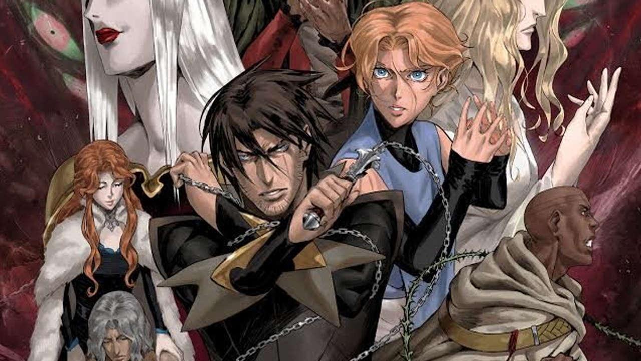 Nova imagem da série de Castlevania homenageia os jogos