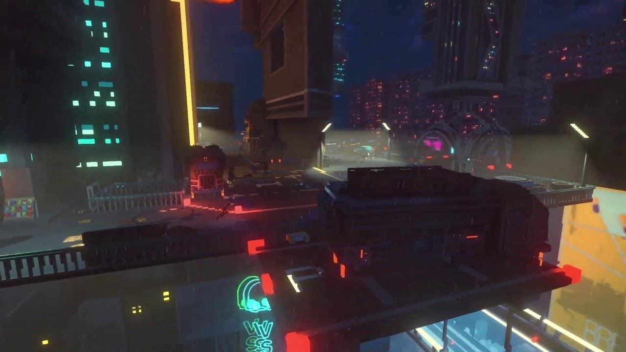 Game cyberpunk de mundo aberto, Cloudpunk chegará para PS4
