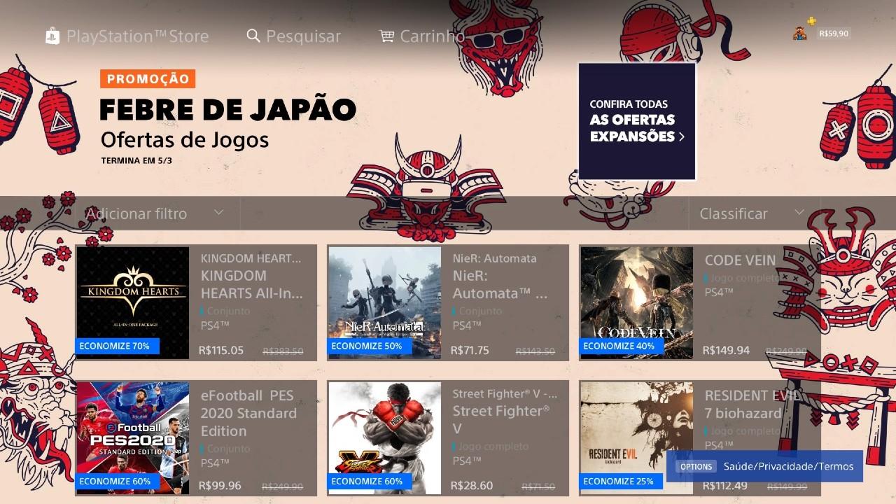 No ar! Sony lança promoção