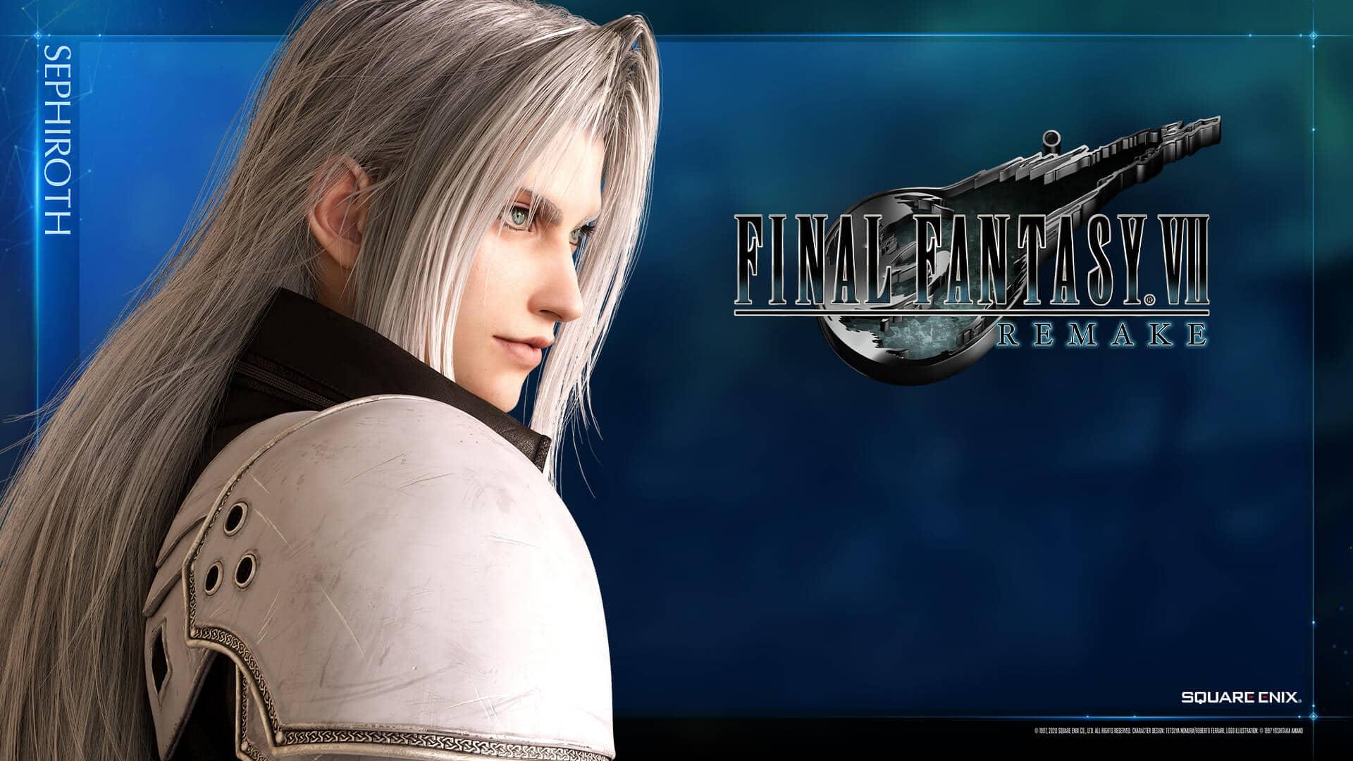 Final Fantasy VII Remake: Sephiroth é destaque em novos wallpapers
