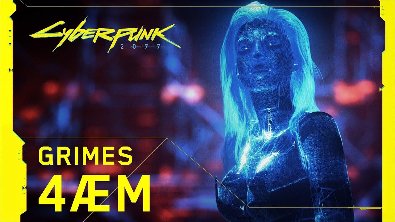 Cyberpunk 2077: Grimes está muito empolgada com jogo da CD Projekt RED