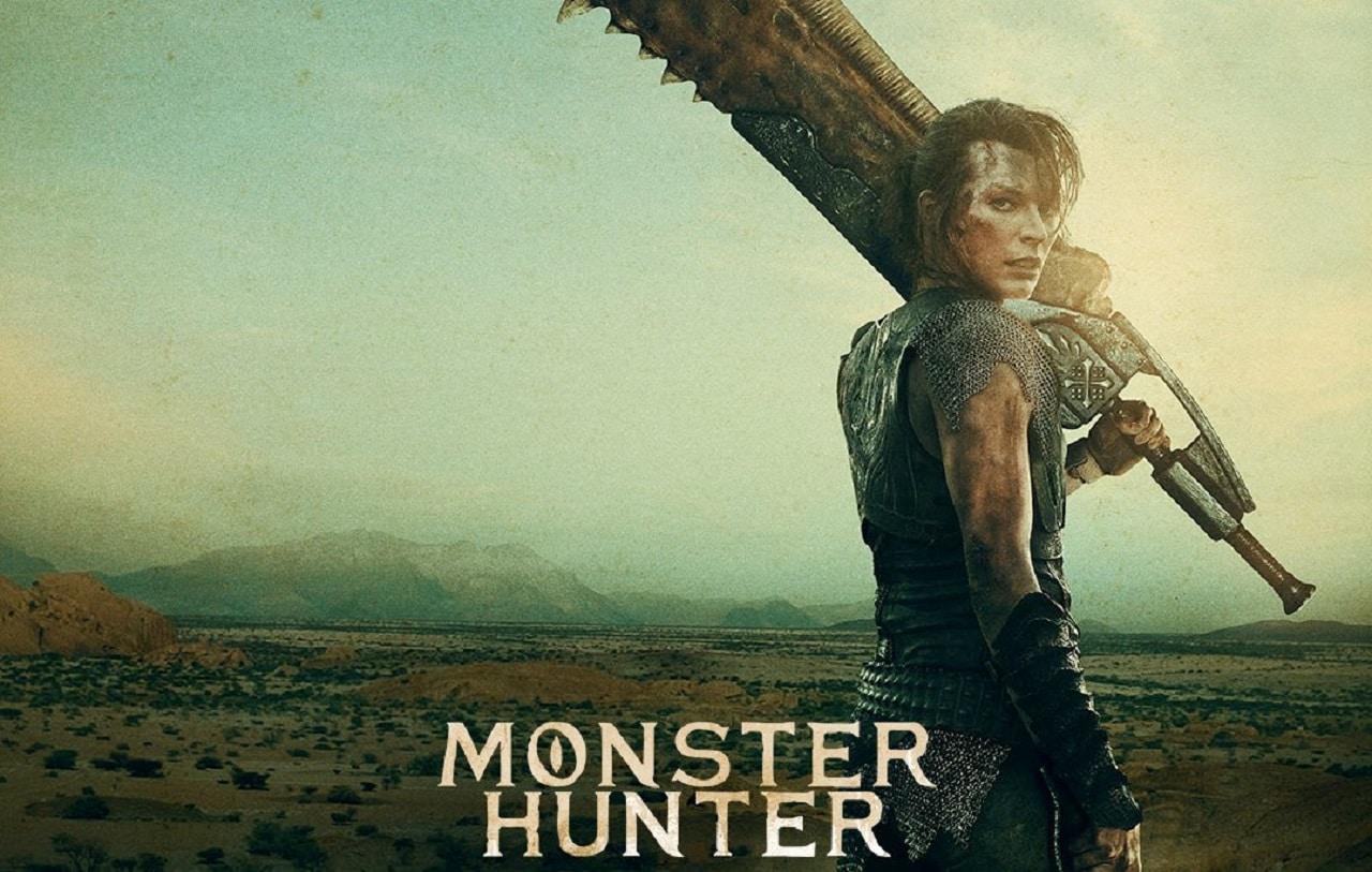 Filme de Monster Hunter ganha pôsteres com Milla e Tony