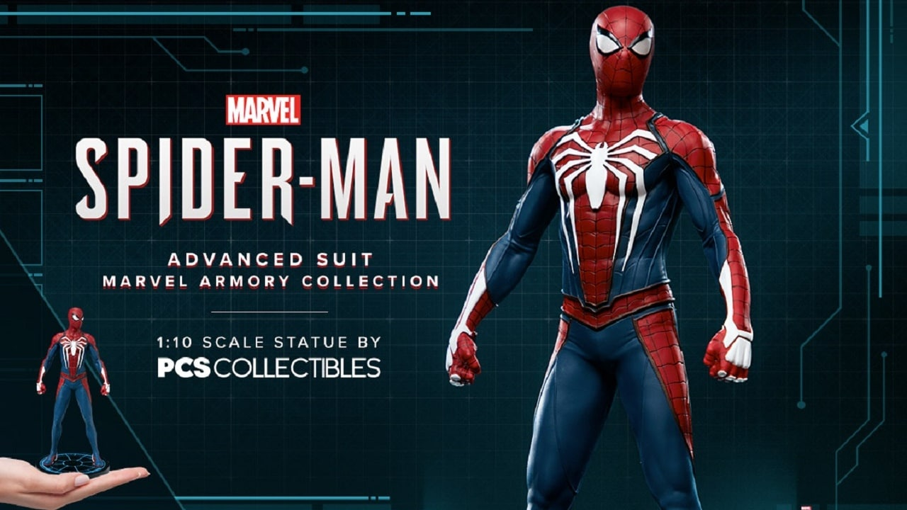 Sideshow revela estatueta incrível de Marvel's Spider-Man