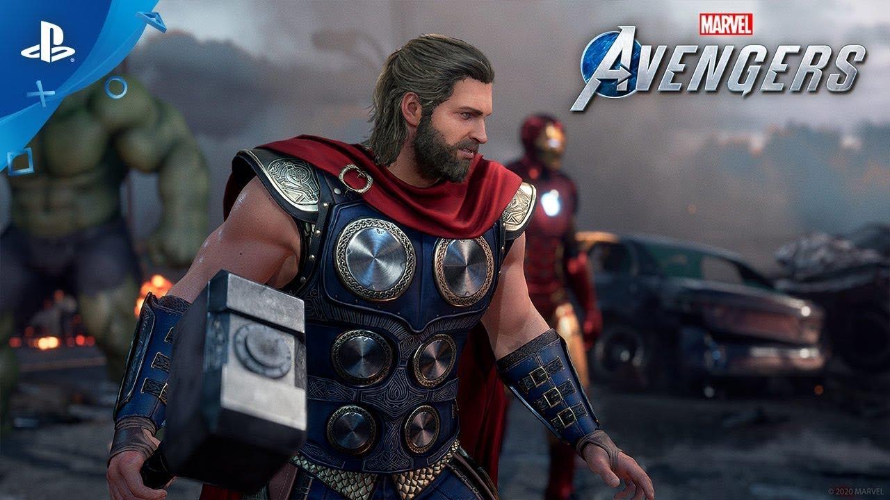 Square Enix libera trailer insano de Marvel's Avengers