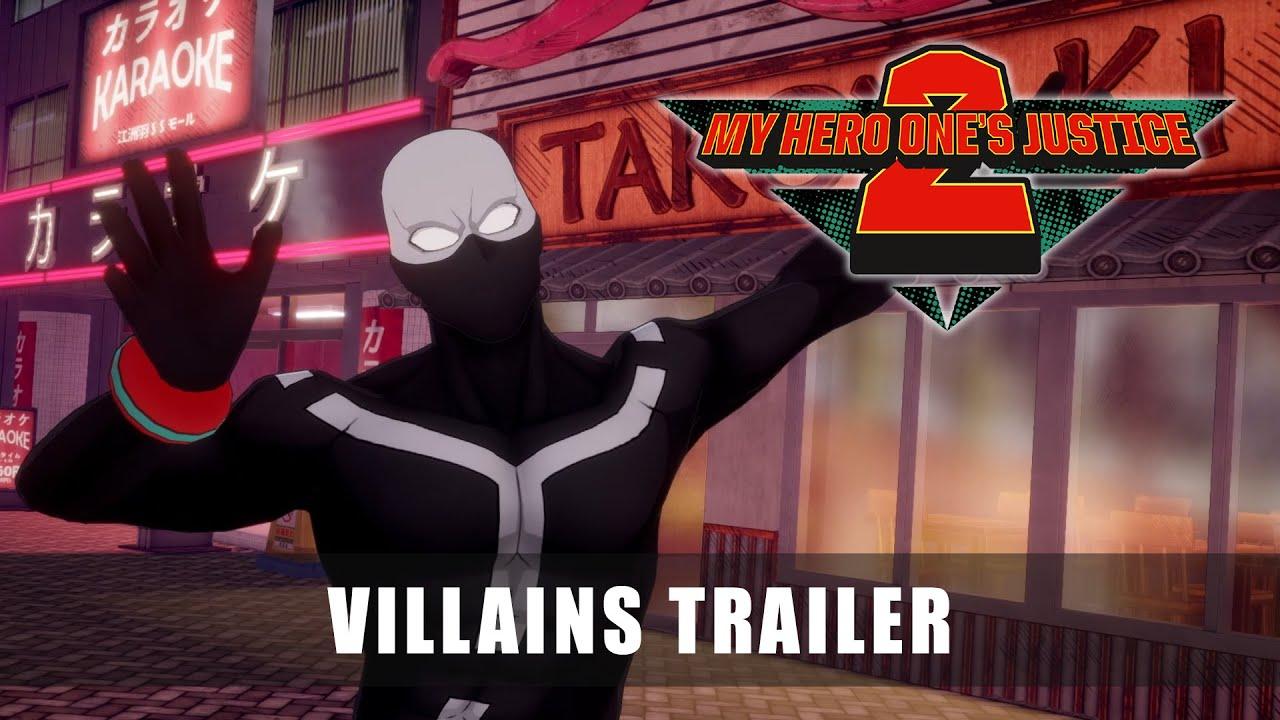 My Hero One's Justice 2 recebe trailer com destaque para os vilões