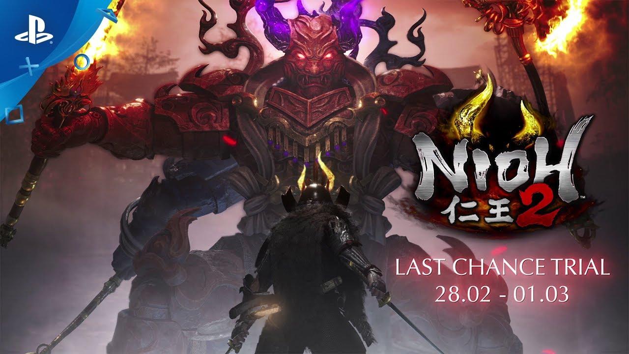 A morte vem aí! NiOh 2: Last Chance Trial ganha trailer