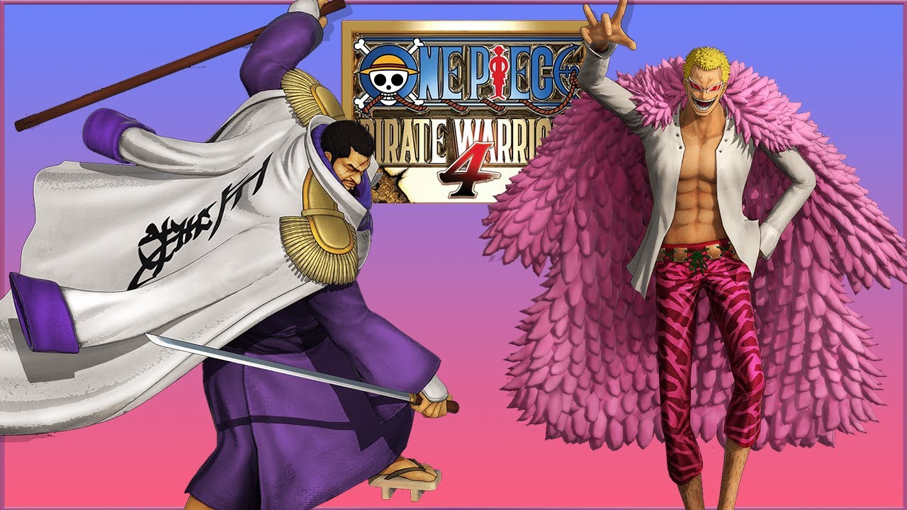 One Piece Pirate Warriors 4 recebe trailers destacando Doflamingo e Issho