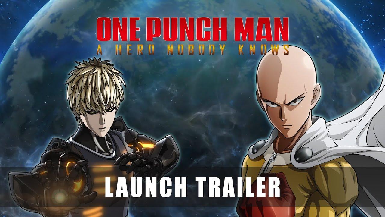 O herói de um soco! One Punch Man: A Hero Nobody Knows recebe trailer de lançamento