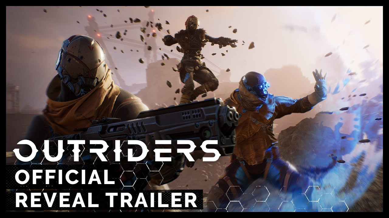 Com trailer alucinante, Square Enix revela: Outriders vai chegar ao PS4 e PS5