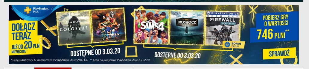 PS Plus FEV