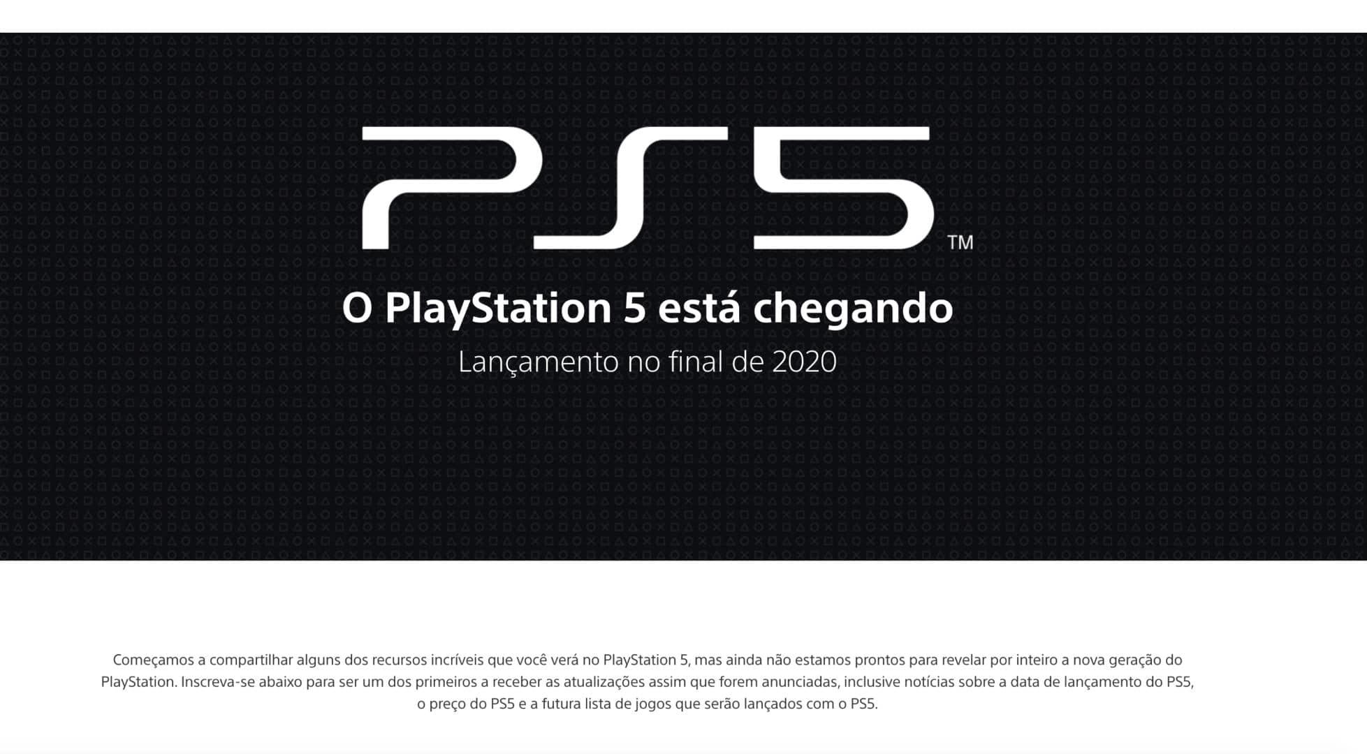 PlayStation 5 no Brasil