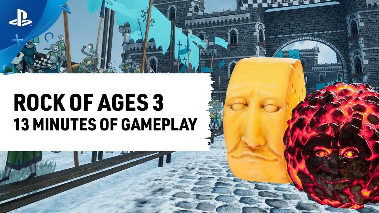 Rock of Ages 3 recebe 13 minutos de gameplay na PAX East