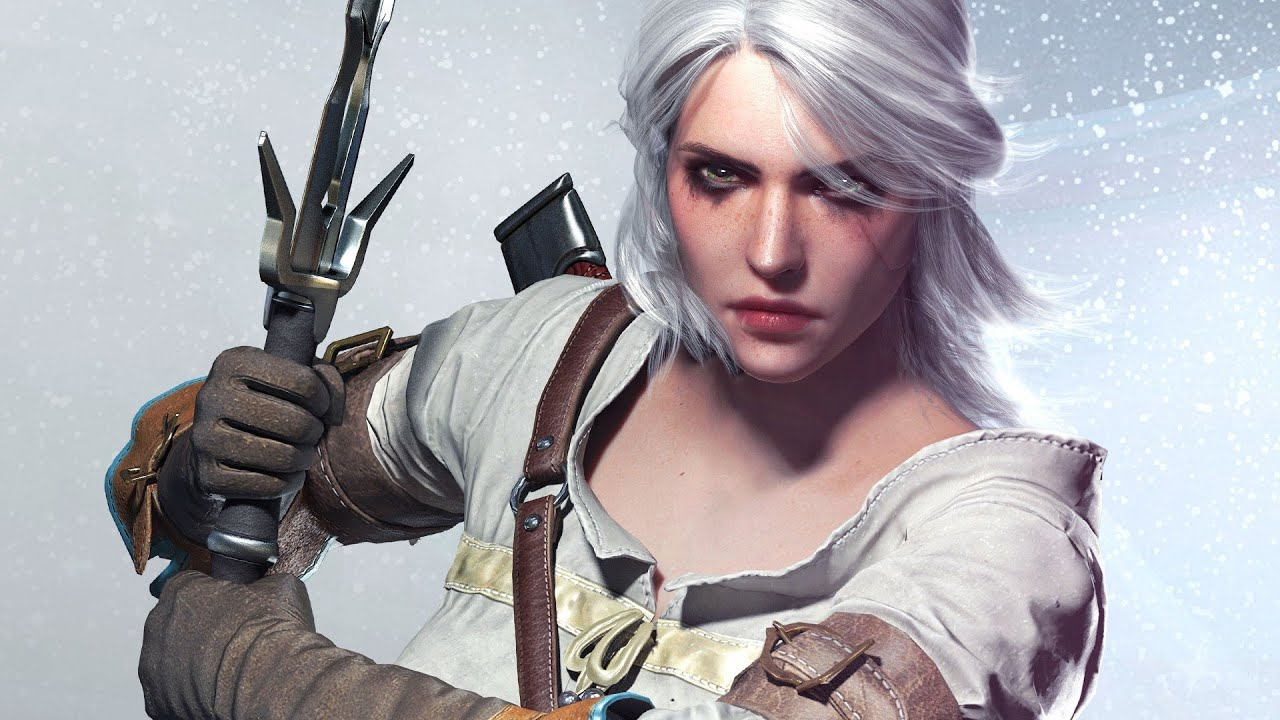 The Witcher 3: cosplayer reproduz estatueta de Ciri usando um kimono