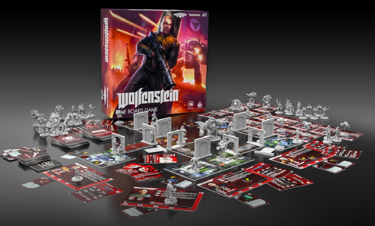 Archon Studio anuncia boardgame de Wolfenstein