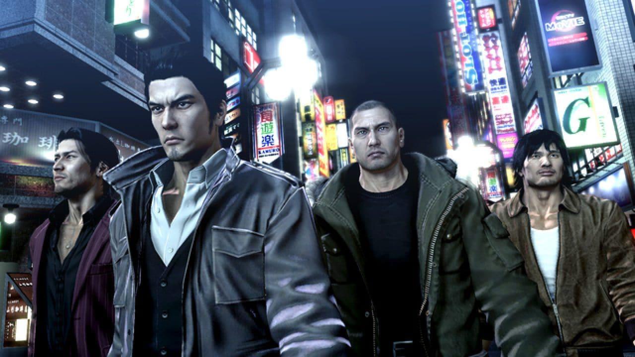 Todos os jogos da série de Yakuza estão disponíveis no PS4