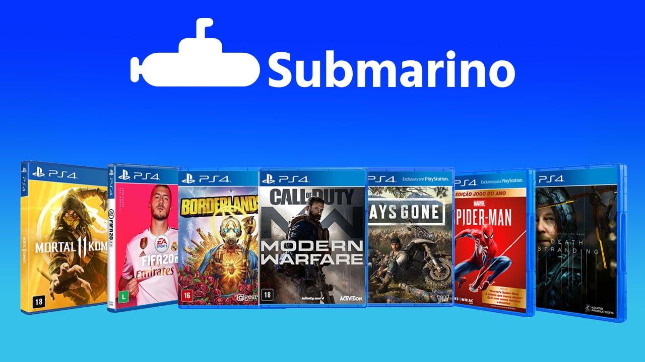 SEXTOU! Submarino oferece cupom de desconto em jogos selecionados