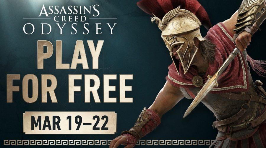 Assassin's Creed Odyssey terá fim de semana gratuito