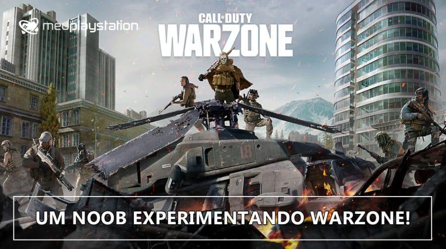 Call of Duty: Modern Warfare Warzone - A primeira partida completa!