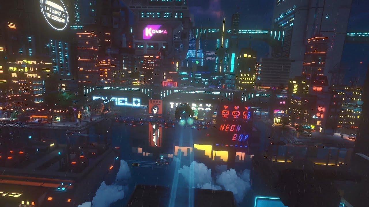 Correios cyberpunk: Cloudpunk chegará ao PS4 em 2020