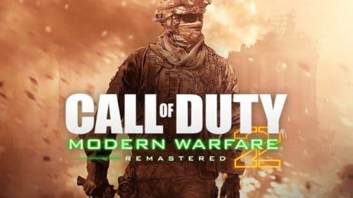Arte de Modern Warfare 2 Remastered é encontrada por dataminers