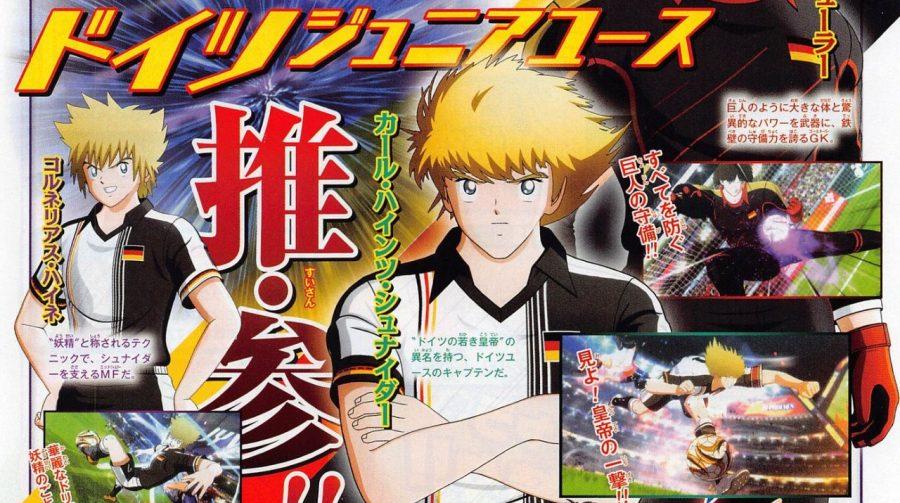 Captain Tsubasa: Rise of New Champions terá personagem original