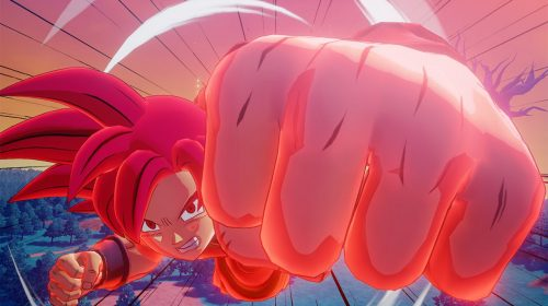 Dragon Ball Z: Kakarot: screenshots de DLC mostram Goku Super Sayajin God