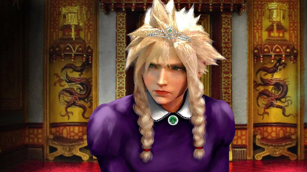 Final Fantasy VII Remake: Cloud poderá vestir diversas roupas na cena crossdressing