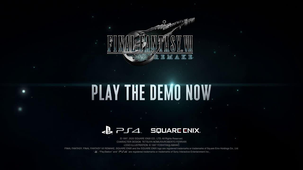 Surpresa! Demo de Final Fantasy VII Remake já está disponível