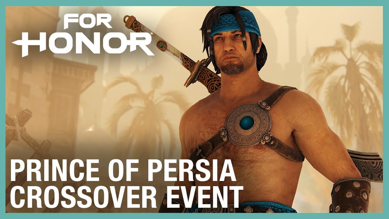 For Honor recebe evento crossover com Prince of Persia