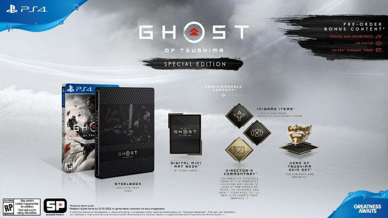 Ghost of Tsushima já está em pré-venda; confira edições