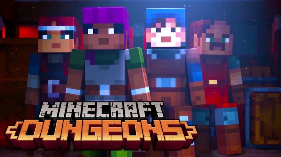 Minecraft Dungeons poderá ser adiado, revela estúdio