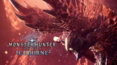 Alatreon, um Dragão Negro, vai chegar a Monster Hunter World: Iceborne
