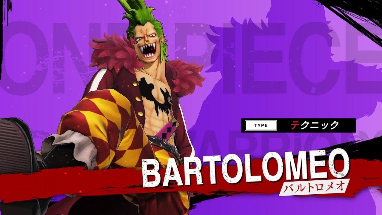 One Piece: Pirate Warriors 4 ganha trailer de Bartolomeo e Cavendish