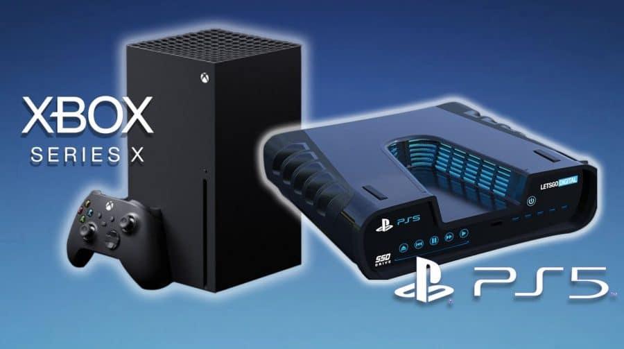 Compare as especificações do PS5 e Xbox Series X