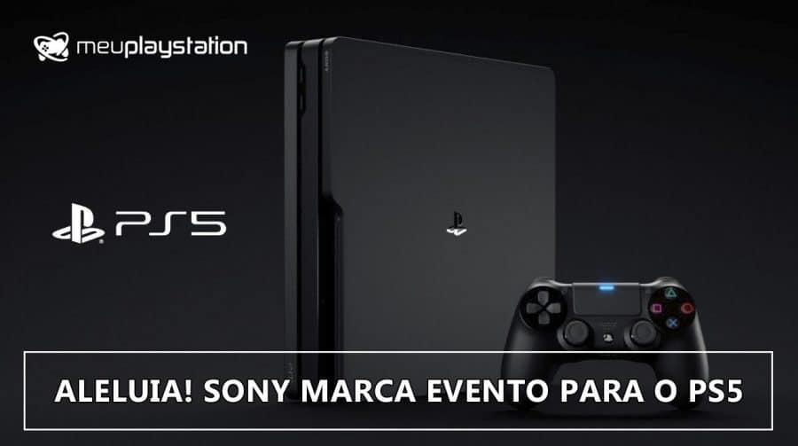 Sony vai FINALMENTE mostrar o PS5 AMANHÃ!