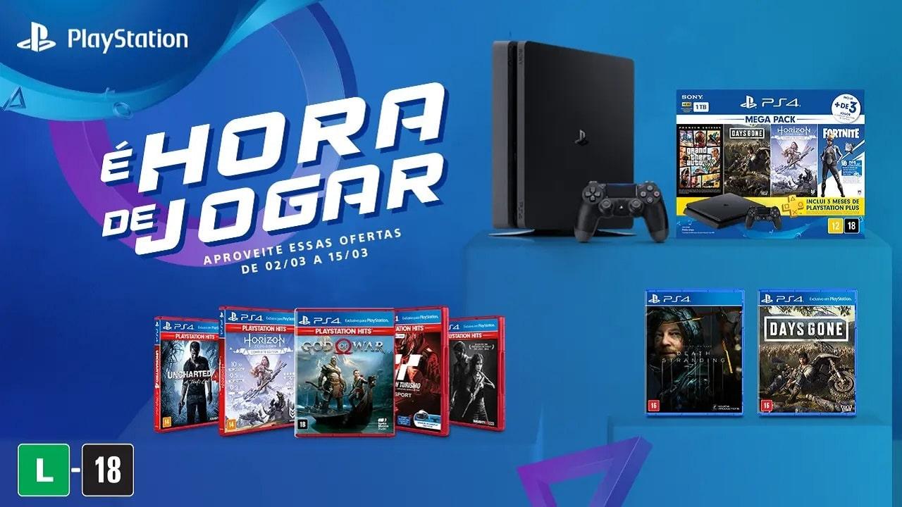 Mega Packs e jogos de PS4 terão desconto na semana do consumidor