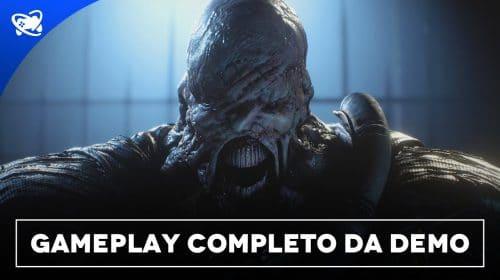 Resident Evil 3 - Gameplay completo da DEMO sem comentários - Legendado PT BR