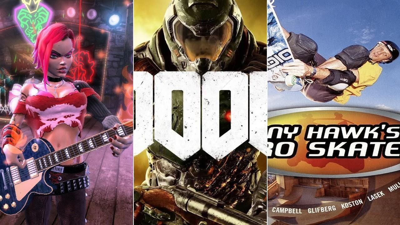 É dia de rock, bebê! Veja dez jogos com trilha sonora rock n'roll