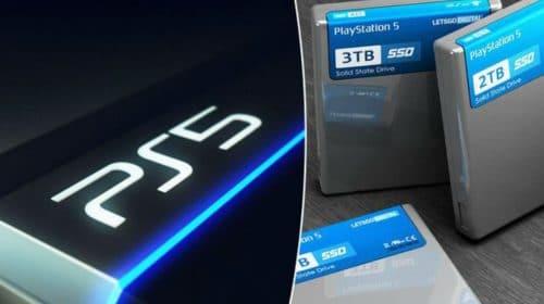 PlayStation 5 terá SSD de 825 GB; suporte a expansão confirmado!
