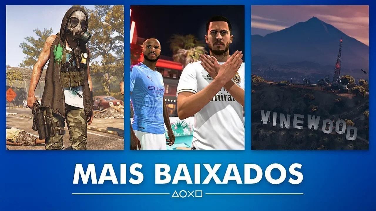 Sony revela os games mais baixados da PSN brasileira em fevereiro